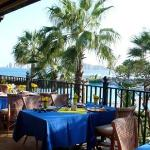 """: view from El Torote. It was one of the four """"specialty"""" restaurants at the hotel."""