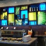 Mosaic buffet