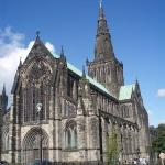 The cathedral in Glasgow