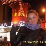 Moulin Rouge ภาพถ่าย