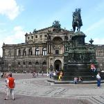 Semper Opera House (Semperoper) ภาพถ่าย