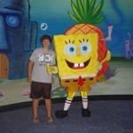 Me and spongebob!