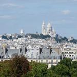 Ago 09: El Sacré-Coeur, visto desde la terraza del Museo de Orsay