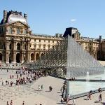 Ago 09: Vista desde el Café Marly (ubicado dentro del Louvre en el ala Richelieu).