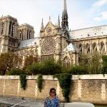Ago 09: La Catedral de Notre-Dame. Es una de las catedrales francesas más antiguas de estilo gót