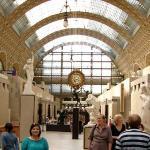 Ago 09: El Musée d´Orsay, dedicado a las artes plásticas del siglo XIX y especialmente famoso po