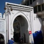 entrance to the Kazbah