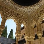 particolare del palazzo Nasrid