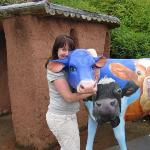 Me and 'I heard it on the Bovine' At Eden :o>