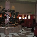 From the lobby