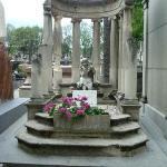 สุสาน Pere-Lachaise (Cimetiere du Pere-Lachaise) ภาพถ่าย
