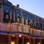 The Big Texan...Home of the 72 oz steak.  If you can eat a shrimp coscktail, baked potato, salad
