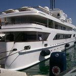 Lady Haya... King of Saudi's yacht