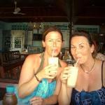 Ko Tao, Thailand - das war im Hotelchen hinter Bans Diving Resort - mit lecker Cocktails :-)