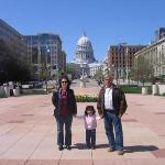 conociendo Madison con mami y Papa Pepe