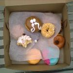 The doughnuts were amazing!!!