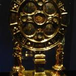 Another reliquary that hold the sponge that romans used to give vinager to Jesus when he was in