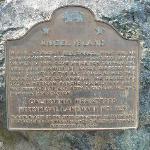 Historical Plaque - Angel Island