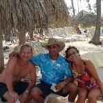 Denny, the beach concierge