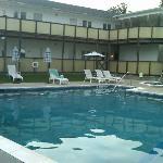 Pool looking toward rooms