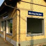 Merlischachen's huge railway station