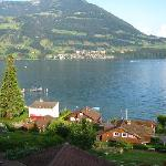 Lake Lucerne from Chateau Golden Gate