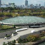 大阪城ホールと大阪城
