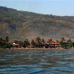 View of the Adirama from the Boat