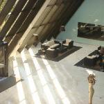 Interior - lobby to pool