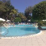 pool at Corinthia Palace