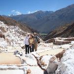 The salt pools at Maras