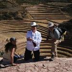The Incan agricultural experiment area at Moray