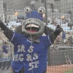 Cashman Field - Las Vegas 51's mascot