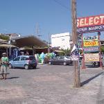The local super market