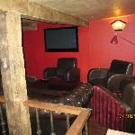 Chill out area in the pub