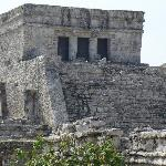 The temple where sacrifices were conducted.