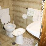 Il bagno di una loro camera standard