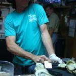 Sit at the bar and have oysters shucked in front of you!