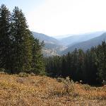 Scenery toward Yellowstone Park