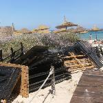 plage de l'hotel el olf