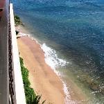 beach looking left off lani