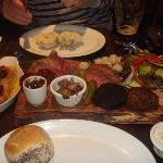 Bellachroy's meat platter