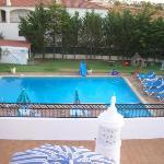 piscina desde terraza