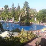 Lovely Pool (all those sunbeds!)