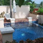 Private Pool in villa