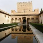 The reflection pond of the Andalusia's time...