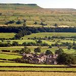 "The Yorkshire Dales (and the village of Askrigg, filmed as Darraby in ""All Creatures Great and S"
