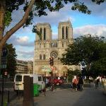 Notre Dame in Paris, where I met Thom and Dale before going to dinner.