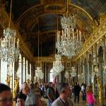 Hall of Mirrors at the Palace of Versailles.