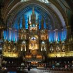 One of the most beautiful church I've visited.   Notre Dame in Montreal Canada
